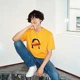[디플로우]DEFLOW - EQUALIZING T-SHIRT(YELLOW) 반팔티 티셔츠