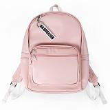 [버빌리안]BUBILIAN - Leather black 4 color _ Pink 가죽 백팩 레더 가방