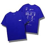 다소울[7J-3021] - receipt - 반팔티 - BLUE