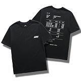 다소울[7J-3021] - receipt - 반팔티 - BLACK