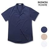 레이먼옴므 - 오픈카라 반팔셔츠 RH2305RT