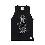 STIGMA - NUCLEAR SLEEVELESS BLACK 나시티 민소매 티셔츠