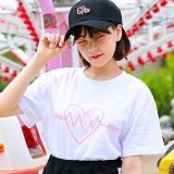 [슈퍼레이티브] superlative [7SMH04] LOVE VIBRATION 반팔 티셔츠 - 반팔 티셔츠 - 4컬러