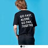 [어커버]ACOVER - GO TOGETHER T-SHIRTS 반팔 반팔티 티셔츠