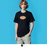 [어커버]ACOVER - OVAL SHAPE LOGO T-SHIRTS 반팔 반팔티 티셔츠