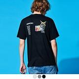 [어커버]ACOVER - LOSS ACOVER T-SHIRTS 반팔 반팔티 티셔츠