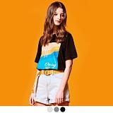 [어커버]ACOVER - DIVING WAVE T-SHIRTS 반팔 반팔티 티셔츠