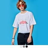 [어커버]ACOVER - OVERLANDS ROSE T-SHIRTS 반팔 반팔티 티셔츠