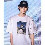 [디파스칼]DPSC - Skateboard T-Shirt White 반팔티셔츠
