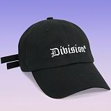 [디파스칼]DPSC - Division 2 Strap Cap Black 볼캡