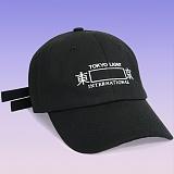 [디파스칼]DPSC - Rectangle Tokyo 2 Strap Cap Black 볼캡