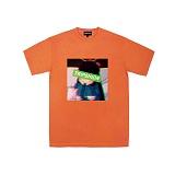 [트립션] TRIPSHION - 근심가득한 소녀 티셔츠 - 보라색