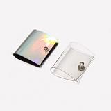 [러쉬오프] RUSHOFF PVC Hologram Earphone Case 2 Set / PVC 홀로그램 이어폰케이스 2세트