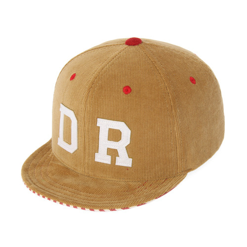[드라이프]DRIFE - CORDUROY WIRE 6 PANEL CAP-BEIGE 스냅백