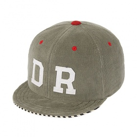 [드라이프]DRIFE - CORDUROY WIRE 6 PANEL CAP-GREY 스냅백