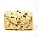 [악세사리미녀]accbeauty - 체리 바나나 밀짚가방 여름가방 추천 크로스백 파우치