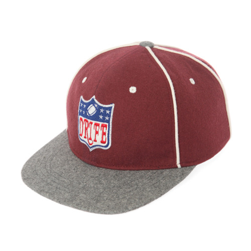 [드라이프]DRIFE - REFEREE 6 PANEL CAP-BURGUNDY 스냅백