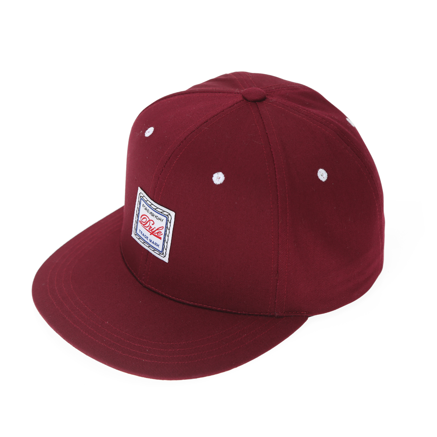 [드라이프]DRIFE - ROPE 6 PANEL CAP-BURGUNDY 스냅백