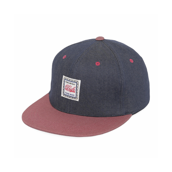 [드라이프]DRIFE - ROPE 6 PANEL CAP-NAVY/RED 스냅백