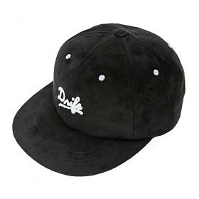 [드라이프]DRIFE - SUEDE 6 PANEL CAP-BLACK 스냅백