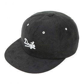 [드라이프]DRIFE - SUEDE 6 PANEL CAP-CHARCOAL 스냅백