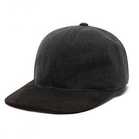 [드라이프]DRIFE - WASHED SUEDE BALL CAP - BLACK 스냅백
