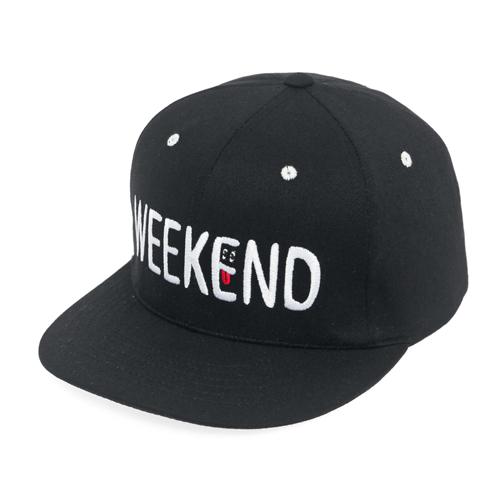 [드라이프]DRIFE - WEEKEND 6 PANEL CAP-BLACK 스냅백
