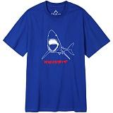 뉴해빗[7nst-58] - JAWS - 반팔티 - 블루