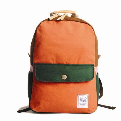 [드라이프]DRIFE - DAYPACK-ORANGE/GREEN 백팩 가방