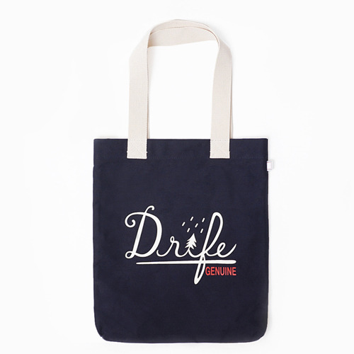 [드라이프]DRIFE - DRIFE LOGO ECO BAG-NAVY 에코백