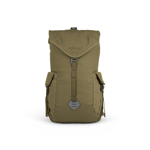 [밀리컨]MILLICAN - 프레이저 럭색 25L (GREEN) 여행용 백팩