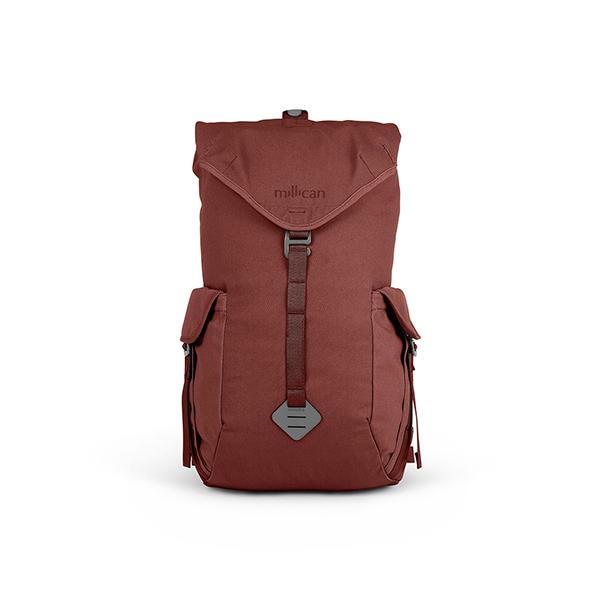 [밀리컨]MILLICAN - 프레이저 럭색 25L (RED) 여행용 백팩