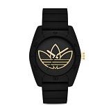 아디다스 오리지널 산티아고 손목시계 ADH3197 블랙(골드) ADIDAS 우레탄시계 정품 국내배송