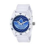 아디다스 오리지널 산티아고 손목시계 ADH3195 화이트(블루로고) ADIDAS 우레탄시계 정품 국내배송