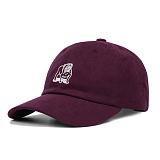 [오베이]OBEY - SLANDER 6 PANEL HAT 100580073 (EGGPLANT) 불독 자수 로고 볼캡 야구모자