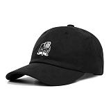[오베이]OBEY - SLANDER 6 PANEL HAT 100580073 (BLACK) 불독 자수 로고 볼캡 야구모자