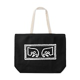 [오베이]OBEY - OBEY EYES TOTE BAGS 100551573 (BLACK) 토트백 에코백