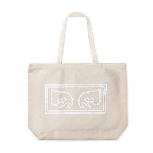 [오베이]OBEY - OBEY EYES TOTE BAGS 100551573 (NATURAL) 토트백 에코백