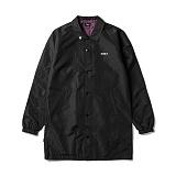 [오베이]OBEY - MASTER JACKET 121800283 (BLACK) 롱코치자켓 코치자켓 자켓