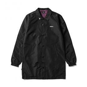 #클리어런스 [오베이]OBEY - MASTER JACKET 121800283 (BLACK) 롱코치자켓 코치자켓 자켓