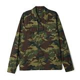 [오베이]OBEY - BREAKDOWN JACKET 121160008 (CAMO) 카모 필드셔츠 긴팔셔츠 셔츠자켓 남방