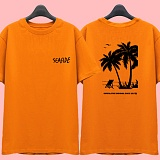 [슈퍼레이티브] superlative [7J5032] SEASIDE 반팔 티셔츠 - 반팔 티셔츠 - 오렌지