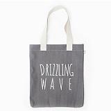 [드라이프]DRIFE - DRIZZLING WAVE ECO BAG-GREY/STRIPE 에코백