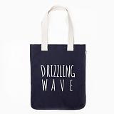 [드라이프]DRIFE - DRIZZLING WAVE ECO BAG-NAVY 에코백