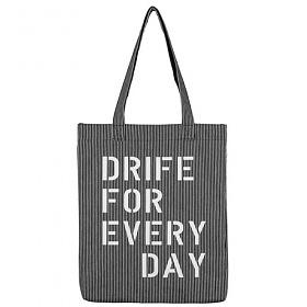[드라이프]DRIFE - HICKORY MARKET BAG2-BLACK 에코백