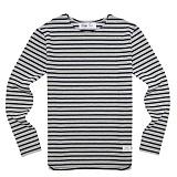[드라이프]DRIFE - BORDER TEE-GREY/NAVY 긴팔티 티셔츠