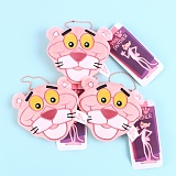 키키바바 - 핑크팬더 캐릭터 파우치 동전 지갑 키링