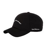 [아케이드코드] SCRIPT BALL CAP - BLACK 볼캡 야구모자