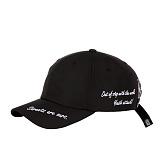 [예약발송 9월25일][아케이드코드] OUT OF STEP BALL CAP - BLACK 볼캡 야구모자