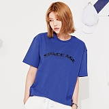 [스페이스 에이지] SPACE AGE - ARCH LOGO T-SHIRTS (BLUE) 반팔티 티셔츠